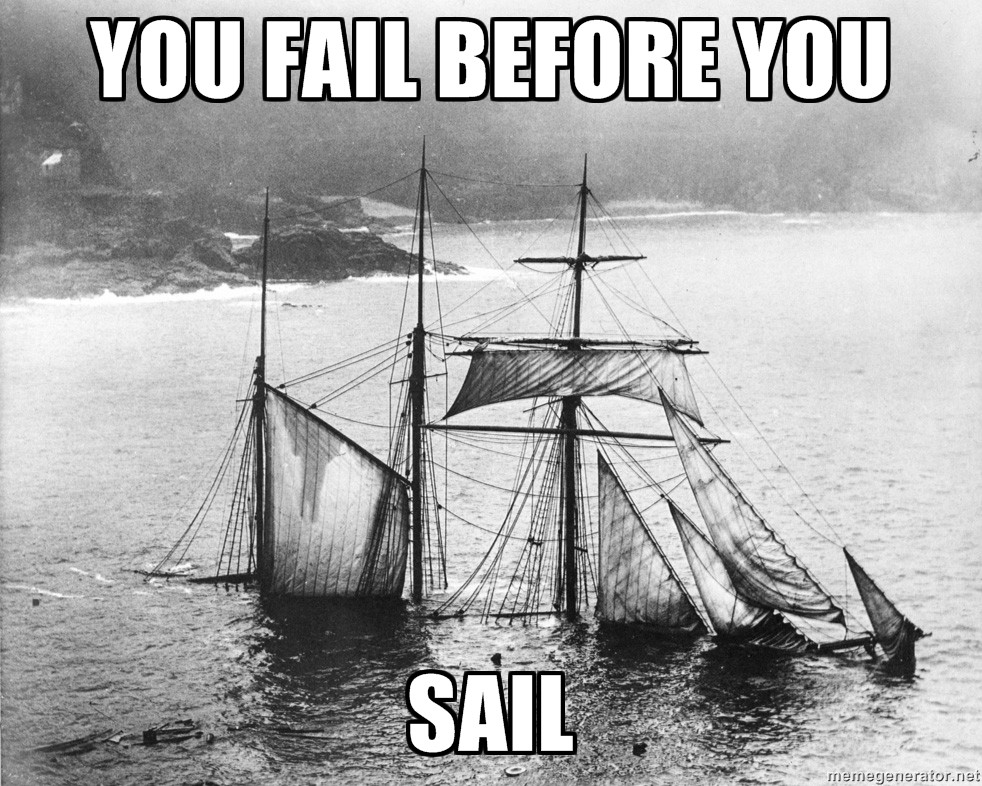 pirateparty you fail before you sail